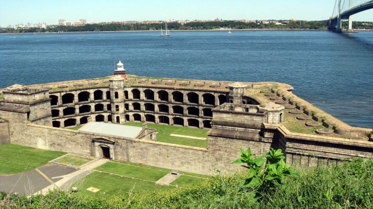 Fort Wadsworth Revetment Project Image